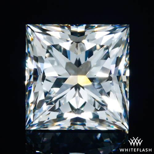 0.797 ct I VS1 A CUT ABOVE® Princess Super Ideal Cut Diamond