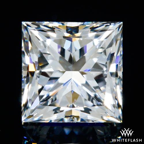 0.617 ct F VVS2 A CUT ABOVE® Princess Super Ideal Cut Diamond
