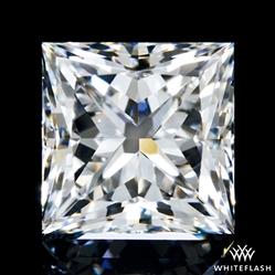 0.571 ct E VS2 A CUT ABOVE® Princess Super Ideal Cut Diamond