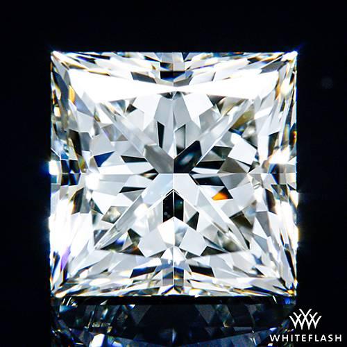 1.536 ct J VS1 A CUT ABOVE® Princess Super Ideal Cut Diamond