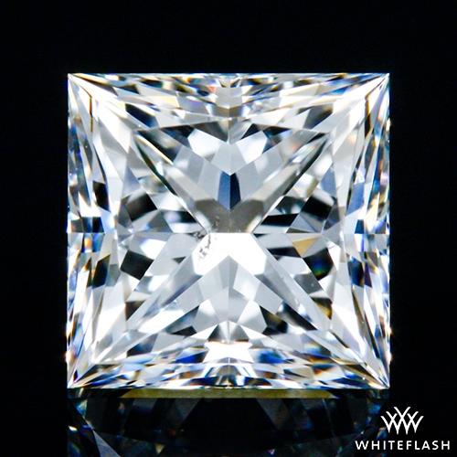 0.712 ct E SI1 A CUT ABOVE® Princess Super Ideal Cut Diamond