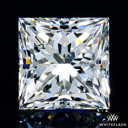 0.931 ct K SI1 A CUT ABOVE® Princess Super Ideal Cut Diamond