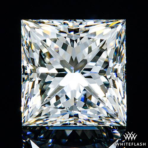 1.514 ct I VS1 A CUT ABOVE® Princess Super Ideal Cut Diamond