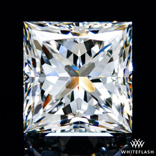 0.918 ct I VVS2 A CUT ABOVE® Princess Super Ideal Cut Diamond
