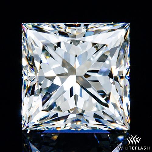 0.903 ct I VVS2 A CUT ABOVE® Princess Super Ideal Cut Diamond