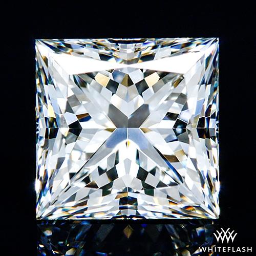 0.922 ct K VS1 A CUT ABOVE® Princess Super Ideal Cut Diamond
