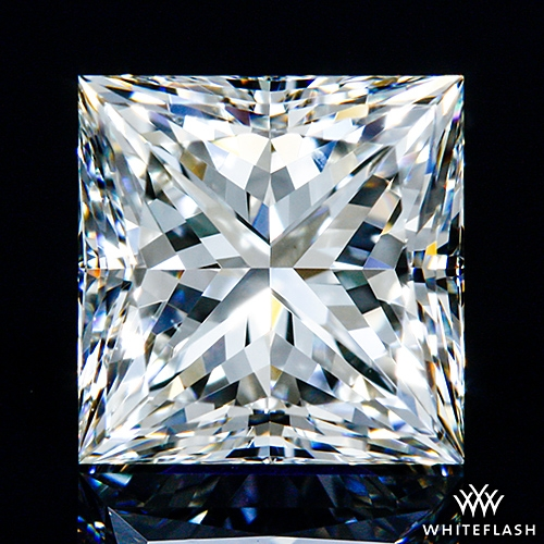 0.937 ct I VS1 A CUT ABOVE® Princess Super Ideal Cut Diamond