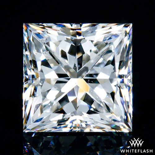 1.043 ct G SI2 A CUT ABOVE® Princess Super Ideal Cut Diamond