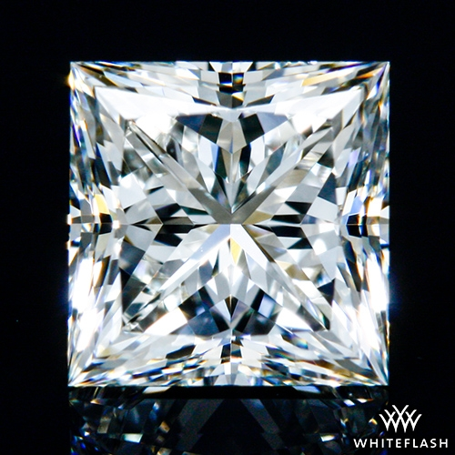 0.90 ct J VS1 A CUT ABOVE® Princess Super Ideal Cut Diamond