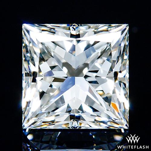 1.016 ct J VS1 A CUT ABOVE® Princess Super Ideal Cut Diamond