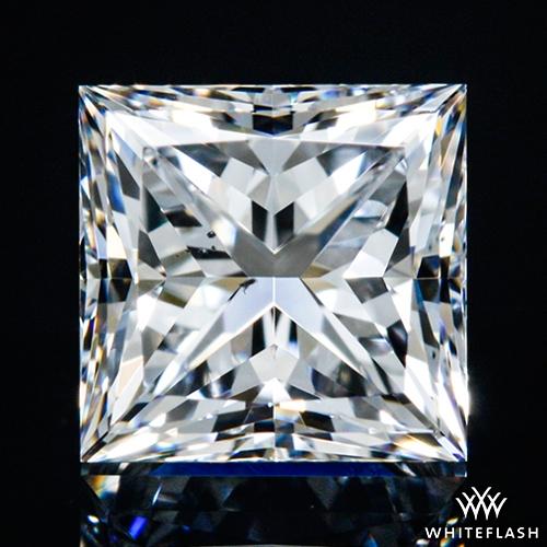 0.61 ct D VS2 A CUT ABOVE® Princess Super Ideal Cut Diamond