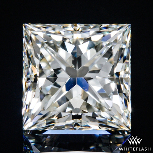 1.213 ct I VS2 A CUT ABOVE® Princess Super Ideal Cut Diamond