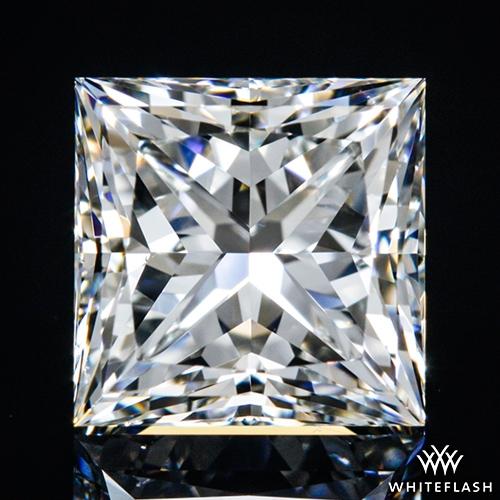 1.051 ct H VS1 A CUT ABOVE® Princess Super Ideal Cut Diamond