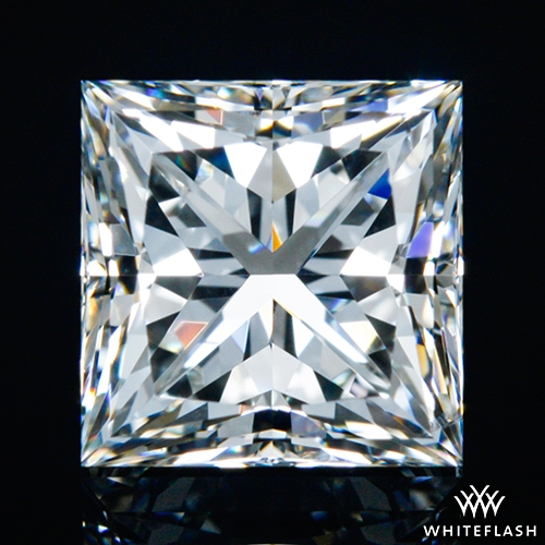 1.525 ct H SI1 A CUT ABOVE® Princess Super Ideal Cut Diamond