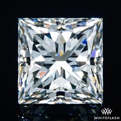 1.525 ct H SI1 A CUT ABOVE® Princess Super Ideal Cut Diamond