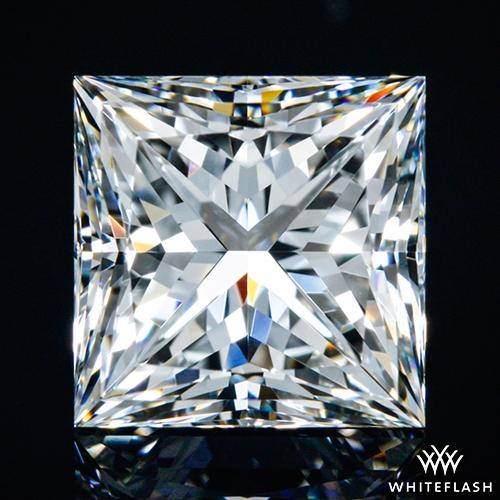 1.533 ct H VVS2 A CUT ABOVE® Princess Super Ideal Cut Diamond