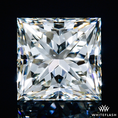 0.703 ct J VS2 A CUT ABOVE® Princess Super Ideal Cut Diamond