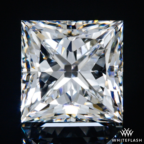 1.52 ct F VS2 A CUT ABOVE® Princess Super Ideal Cut Diamond