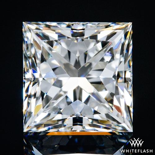 1.225 ct H VS2 A CUT ABOVE® Princess Super Ideal Cut Diamond
