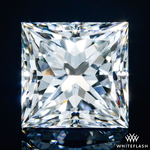 1.025 ct H VS2 A CUT ABOVE® Princess Super Ideal Cut Diamond