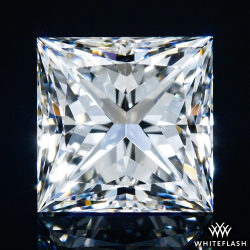 1.044 ct F VS1 A CUT ABOVE® Princess Super Ideal Cut Diamond