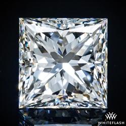 1.524 ct H SI1 A CUT ABOVE® Princess Super Ideal Cut Diamond