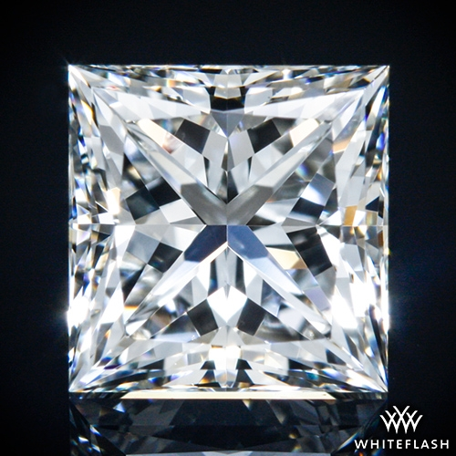 1.002 ct H VS1 A CUT ABOVE® Princess Super Ideal Cut Diamond