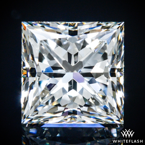 1.311 ct I VS2 A CUT ABOVE® Princess Super Ideal Cut Diamond