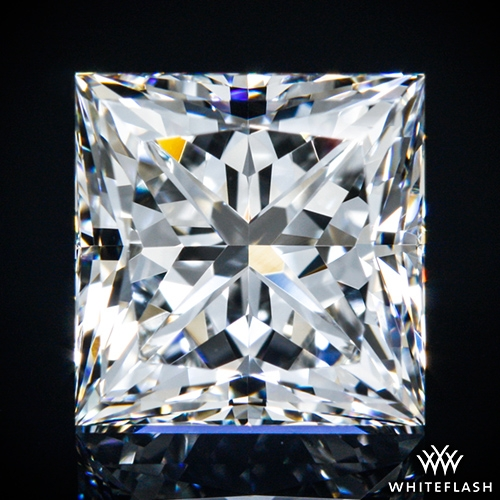 1.516 ct F VVS1 A CUT ABOVE® Princess Super Ideal Cut Diamond