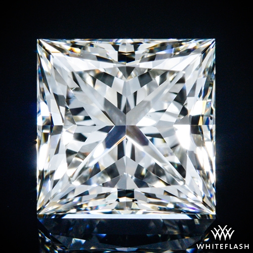 1.202 ct I VS2 A CUT ABOVE® Princess Super Ideal Cut Diamond