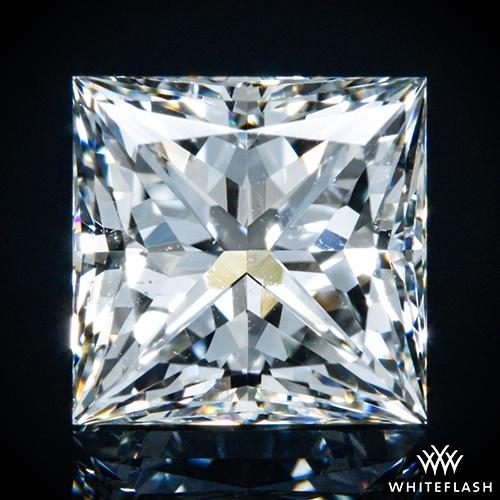 1.001 ct H SI1 A CUT ABOVE® Princess Super Ideal Cut Diamond