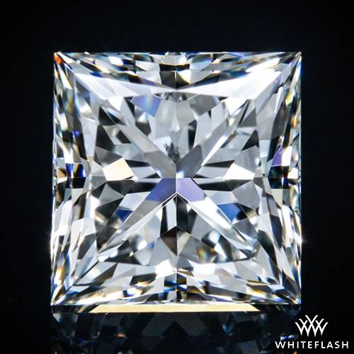 0.973 ct I SI1 A CUT ABOVE® Princess Super Ideal Cut Diamond
