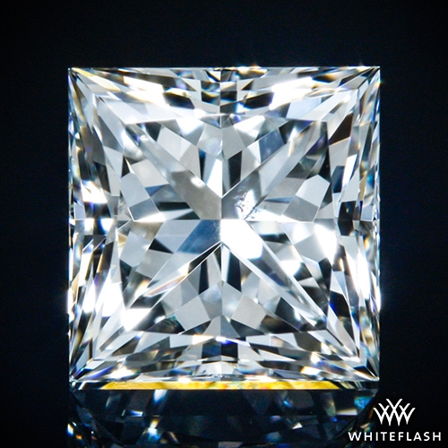 0.768 ct I SI1 A CUT ABOVE® Princess Super Ideal Cut Diamond