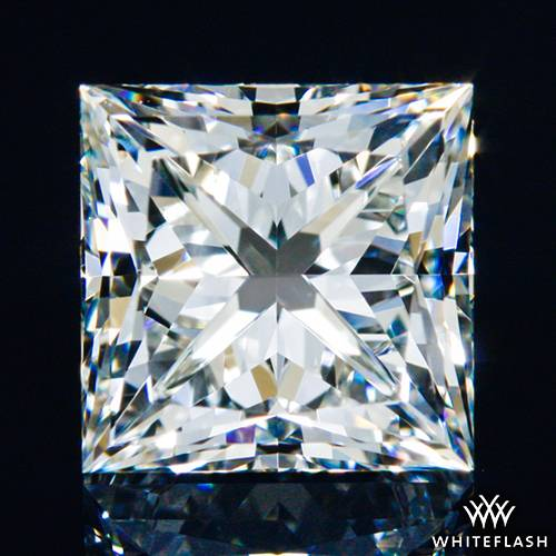 1.238 ct I VS1 A CUT ABOVE® Princess Super Ideal Cut Diamond