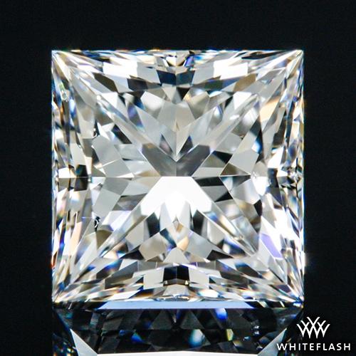 1.01 ct F VS2 A CUT ABOVE® Princess Super Ideal Cut Diamond
