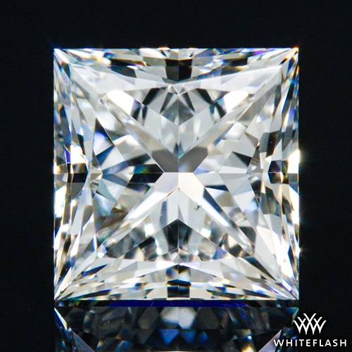 0.714 ct F VS2 A CUT ABOVE® Princess Super Ideal Cut Diamond