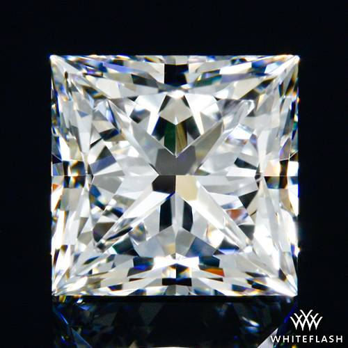 0.702 ct D VVS1 A CUT ABOVE® Princess Super Ideal Cut Diamond