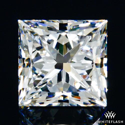 0.702 ct D VVS1 A CUT ABOVE® Princess Super Ideal Cut Diamond