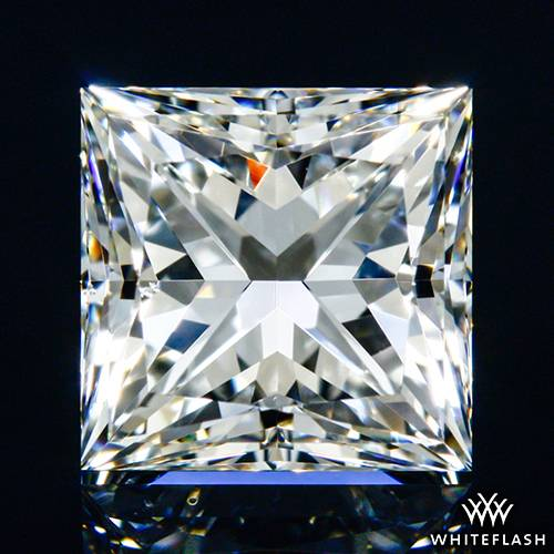1.068 ct G VS2 A CUT ABOVE® Princess Super Ideal Cut Diamond