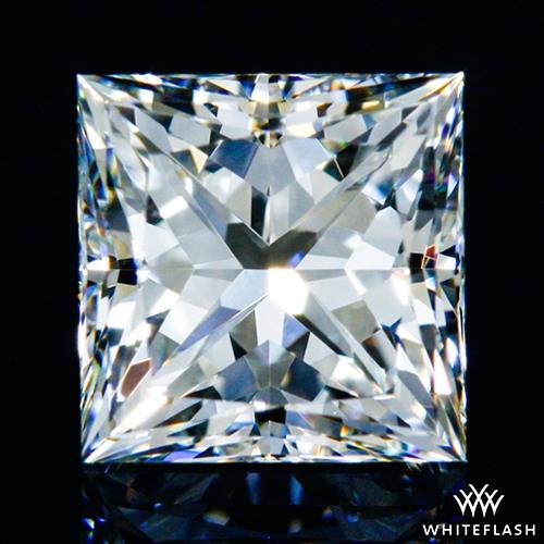0.528 ct H VS1 A CUT ABOVE® Princess Super Ideal Cut Diamond