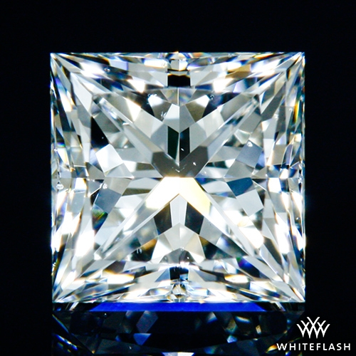 0.607 ct G VS2 A CUT ABOVE® Princess Super Ideal Cut Diamond