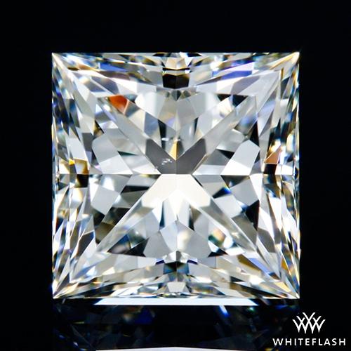 0.613 ct H SI1 A CUT ABOVE® Princess Super Ideal Cut Diamond