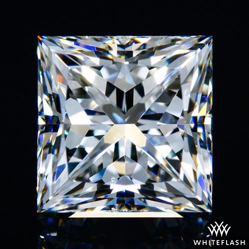 0.827 ct I VS2 A CUT ABOVE® Princess Super Ideal Cut Diamond