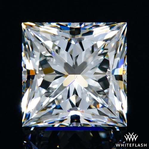 1.324 ct H VS2 A CUT ABOVE® Princess Super Ideal Cut Diamond