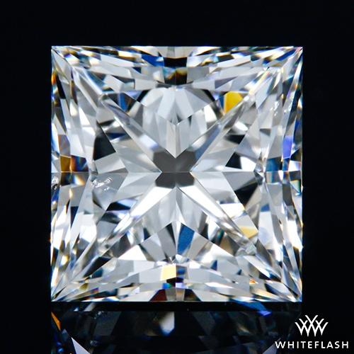 1.23 ct H VS2 A CUT ABOVE® Princess Super Ideal Cut Diamond