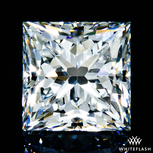 1.048 ct F VS1 A CUT ABOVE® Princess Super Ideal Cut Diamond