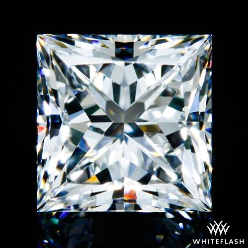 0.632 ct G VVS2 A CUT ABOVE® Princess Super Ideal Cut Diamond