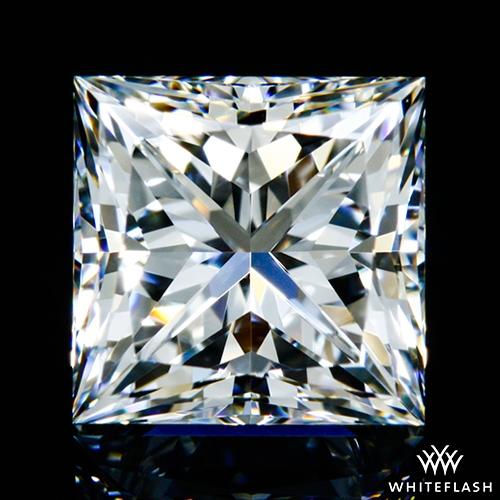 1.027 ct F VVS2 A CUT ABOVE® Princess Super Ideal Cut Diamond