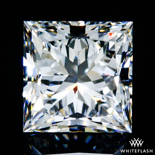 0.86 ct E VS1 A CUT ABOVE® Princess Super Ideal Cut Diamond