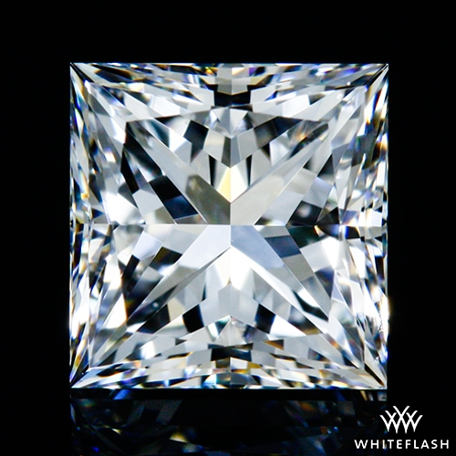 0.725 ct F VS1 A CUT ABOVE® Princess Super Ideal Cut Diamond